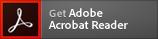 Adobe Acrobat Reader ダウンロードアイコンを表示
